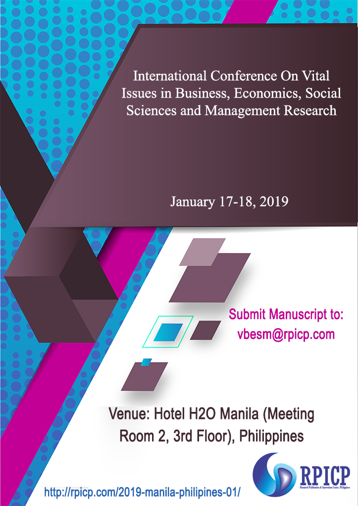 RPICP Conferences | VBESM-JAN-2019