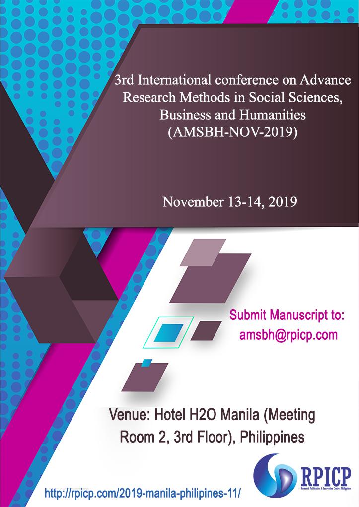 RPICP Conferences | AMSBH-NOV-2019